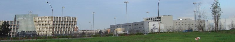 Airbus Toulouse plant entrance.jpg