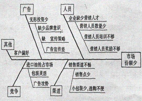 鱼骨图案例分析图例