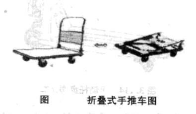 折叠式手推车图