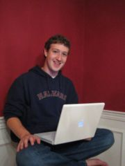 Facebook创始人兼CEO Mark Zuckerberg