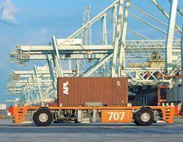 AGV在港口运输中的应用
