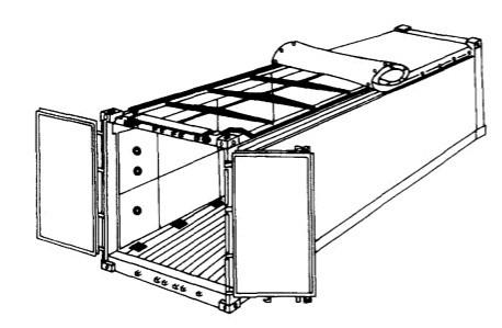 敞顶集装箱