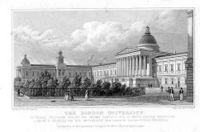 University College's main building in the late 1820s.