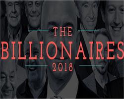 2018年《福布斯》全球亿万富豪排行榜