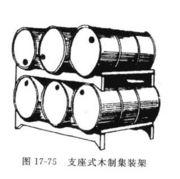 支座式木制集装架
