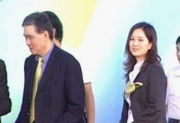 王文洋和吕安妮(图右)当年轰动一时的师生恋,让王永庆的一手规划的接班布局,完全得重新开始