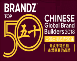 2018年BrandZ中国出海50强品牌榜