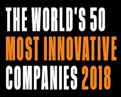 2018年度全球最具创新力企业